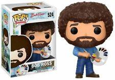 FUNKO POP! TELEVISION: BOB ROSS - BOB ROSS 524 14813 VINYL FIGURE IN STOCK
