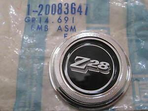 CAMARO Z28  1977-1979   Door Panel emblem  GM  NOS  20083647