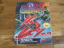 ATARI ST disque informatique offre/Combiner Big Box-Tengen Domark Stun Runner