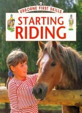 Starting Riding (Usborne First Skills)-Helen Edom
