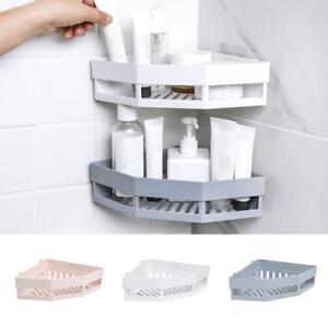Corner Drain Shelves Bathroom Storage Punch Free Wall Suction Shelf
