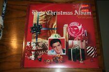 ELVIS PRESLEY VINYL LP ELVIS' CHRISTMAS ALBUM FM1 5486 GREEN VINYL SEALED