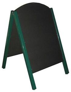 Large A Frame Chalkboard Blackboard Sandwich Pavement Sign Menu Board Bar