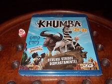 Khumba - Cercasi Strisce Disperatamente (3D 2D)  Blu-Ray ..... Nuovo