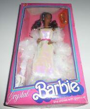 RARE AA Vintage 1983 Crystal Barbie doll. En parfait état, dans sa boîte