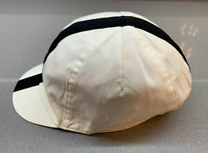 Rapha Cap Cream Black Size Medium/Large Brand New With Tag