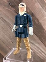 1980 Kenner Star Wars ESB Han Solo Hoth Outfit Action Figure No Coo Wide Stance