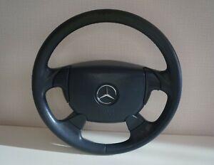Mercedes benz AMG W202 W124 W210 W208 W140 R129 R171 SPORT steering wheel blue