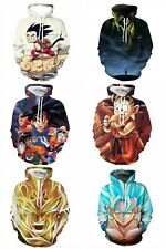 Dragon Ball Z 3D Print Hoodie Jumper Sweater Pullover Goku Gohan Anime Cosplay
