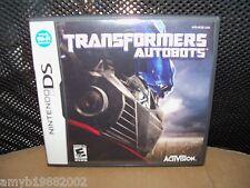 Transformers: Autobots (Nintendo DS, 2007) EUC FREE USA SHIPPING