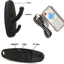 Clothes Hook Hidden HD Spy Camera DV DVR Video Record + Remote upto 16GB J019