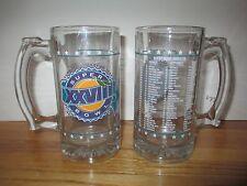 """1994 Dallas Cowboys (Georgia Dome) Super Bowl Xxviii 5.5"""" Glass Mug"""