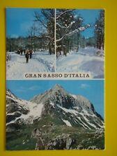 16 GRAN SASSO D'ITALIA - POSTCARD