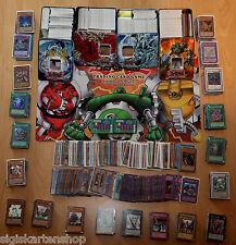 100 DEUTSCHE Yu-Gi-Oh Karten + 1 Booster Sammlung Deck Holo Ultra SCR Gold Rare