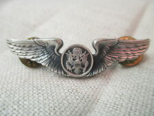 Vintage 1/20Silver filled Wings  Eagle in circle Krew G-I