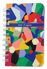 New Vera Bradley 2017 Mini Agenda, Daily Planner, Organizer In Pop Art 18192-660