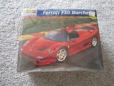 NOS REVELL MONOGRAM FERRARI F50 BARCHETTA 1/24 SCALE CAR MODEL KIT 85-7610