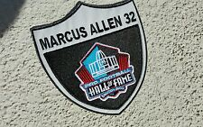 raiders patches RNFLraider nation Marcus Allen Hall of fame Oakland raiders