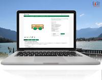 Auktionsvorlage 2020 eBay NEU Responsive Template Design dark green+free Editor