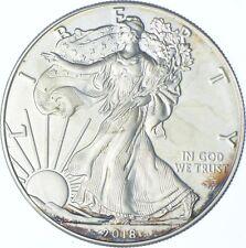 Better Date 2018 American Silver Eagle 1 Troy Oz .999 Fine Silver *037