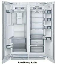 """Thermador Freedom Collection 48"""" Refrigerator T24Ir800Sp+Nib Freezer T24Id800Rp"""