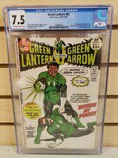 Green Lantern #87 1971 DC Comics 1st Appearance of John Stewart CGC 7.5