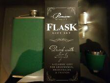 (New) Premium Quality Flask Gift Set (Green)