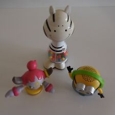 Lot de 3 figurines POKEMON NINTENDO UNIVERSAL STUDIOS MAC DONALD'S