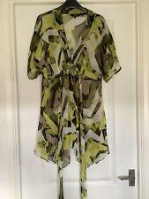 Ladies Size 14 Star By Julian Mcdonald Sheer Top Tunic