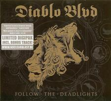 DIABLO BLVD ‎– FOLLOW THE DEADLIGHTS LIMITED EDITION DIGIPAK  (NEW/SEALED) CD