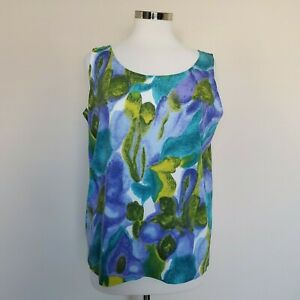 Vintage Wilson Tennis Tank Top NOS NWOT New Old Dead Stock Large Cotton 70s 80s