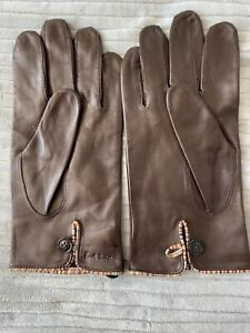 Paul Smith Leather gloves Large