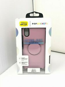 NEW OtterBox + Pop Symmetry Case for Apple iPhone X, iPhone XS - Mauveolous Pink