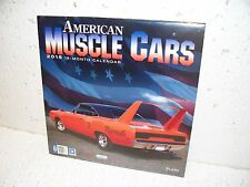 2015 American Muscle Car 18 Month Calendar Dodge Ford Chevy Plymouth Mopar GM