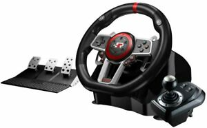 Volante con Pedales FR-TEC Suzuka Elite cambio vibracion PS4 PC XBOX Switch