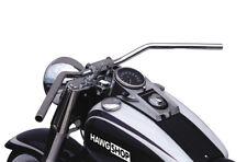 Lucas manillar flyerbar cromo con Abe para Harley Davidson