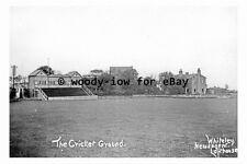 pt9337 - The Cricket Ground , Lofthouse , Yorkshire - photograph