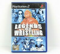 Legends Of Wrestling PS2 PlayStation 2 Game Complete With Manual PAL