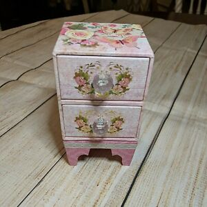 Punch Studio Two Rose Scented Soap Bar - The Gifted Line - In Mini Chest Drawers