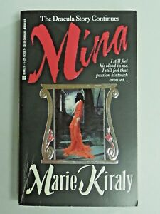 MINA The Dracula Story Continues by Marie Kiraly 1994 Paperback Book 846
