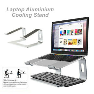 Universal Ergonomic Aluminium Cooling Elevator for Laptop Stand Portable 11-17'