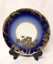 RARE Haviland Antique Cobalt Gold Dammouse Salad Plate(s)