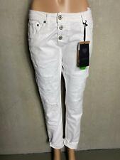 PLEASE - lässige Jeans P47G Destroyeffekte weiß -  NEU GR S 36 SMALL 3001j