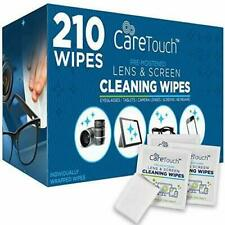 Care Touch Lw210 Lens Cleaning Wipes - 210 Count