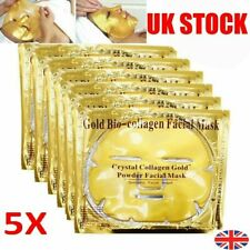 Collagen Face Mask Gold Skin Wrinkle Anti 24k Facial Care Bio Crystal Treatment