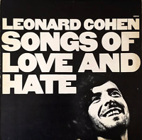 LEONARD COHEN - Songs Of Love And Hate (LP) (G+/G++)