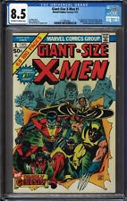Giant-Size X-Men #1 CGC 8.5 Marvel Comic 1st New Team; Wolverine OW-W Pages