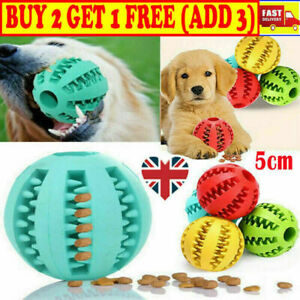Pet Puzzle Toy Food Dispenser Tough-Treat Ball Dog Interactive Puppy Play Toy BH