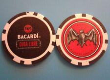 BACARDI CULA LIBRE promotion CHIP Poker Casino Bar token Puerto Rico