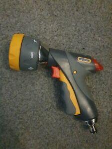 Hozelock 2694 Multi Spray Pro Watering Gun - Grey/Yellow
